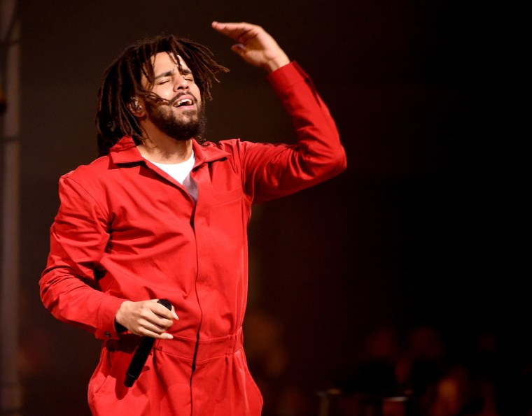 J. Cole's new album is out this Friday.