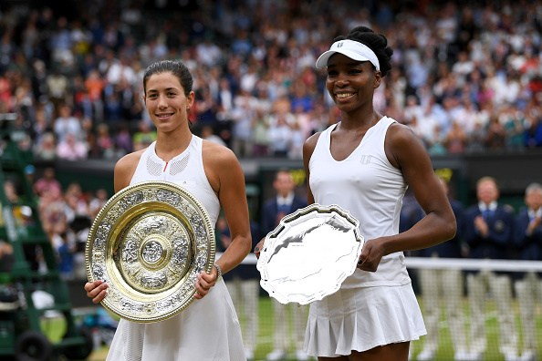 Gabriñe Muguruza Beats Venus Williams For Wimbledon Title
