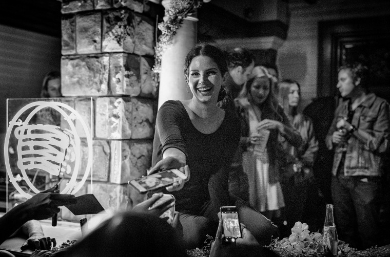 Lana Del Rey Threw A Party For Some Of Her Most Devoted Fans