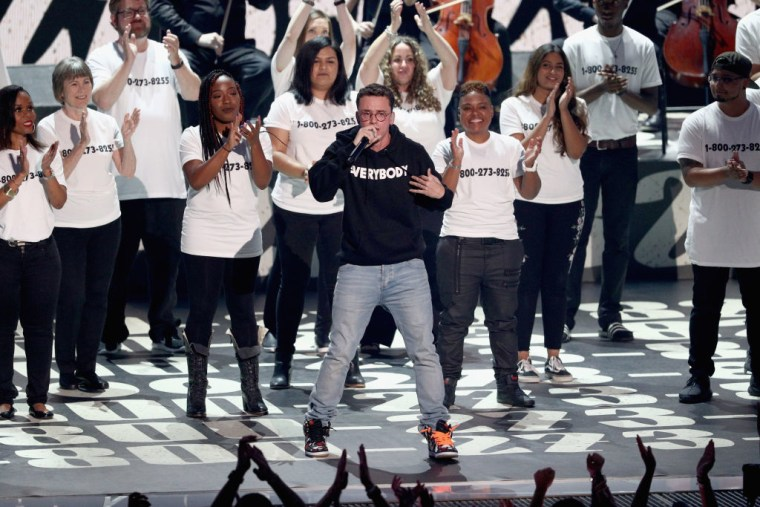 "Calls To Suicide Prevention Hotlines Increased By 50 Percent After Logic's VMA Performance Of ""1-800-273-8255"""