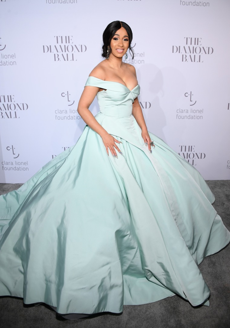 How Cardi B Got Her Cinderella Red Carpet Moment At