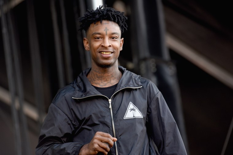 21 Savage donates school supplies, haircuts at back-to-school drive