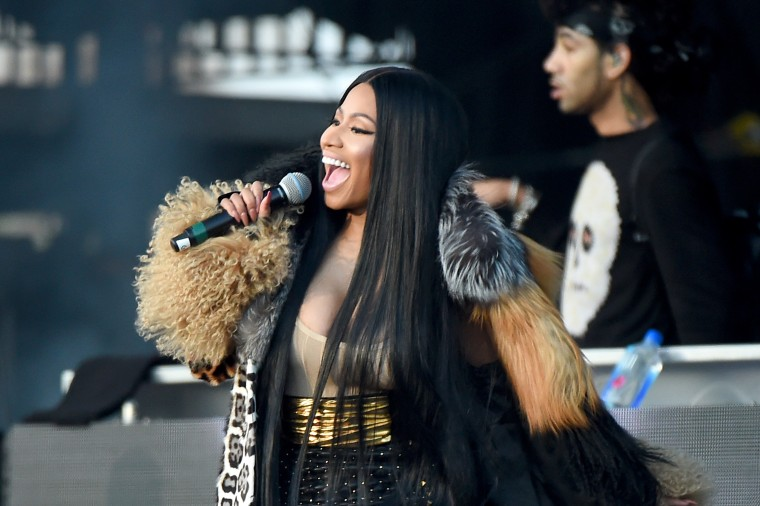 Go behind the scenes as Nicki Minaj records new album <I>Queen</i>