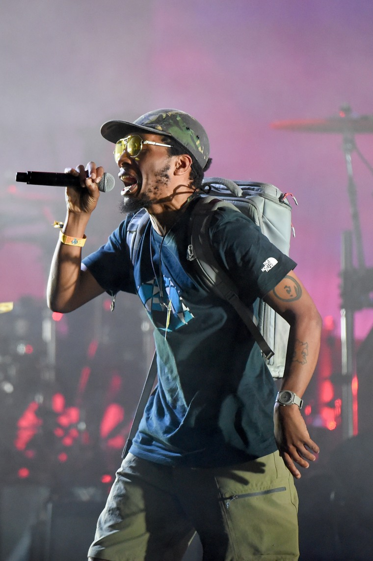 Del The Funky Homosapien fractured seven ribs and punctured a lung in Gorillaz stage fall