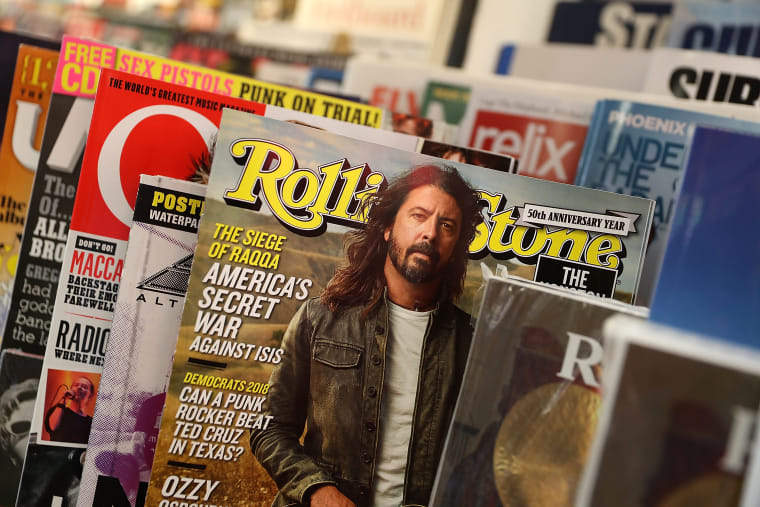 Rolling Stone delays launch of music charts