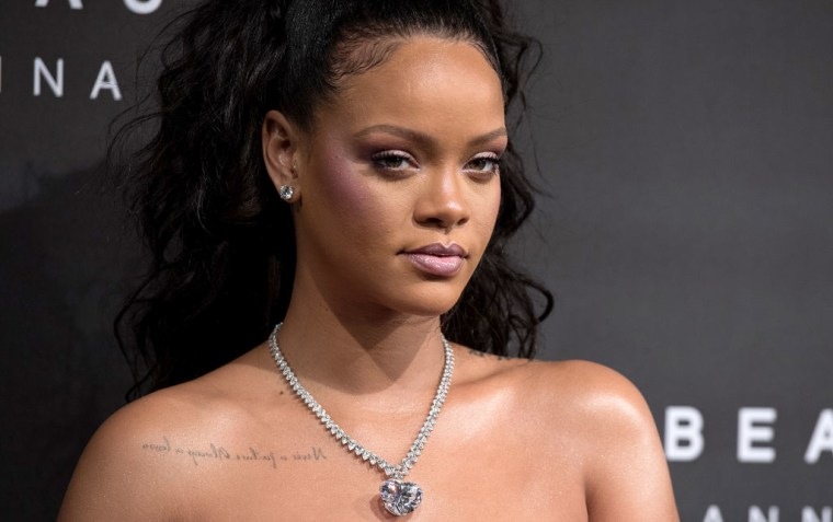 Rihanna reveals her favorite Fenty Beauty product