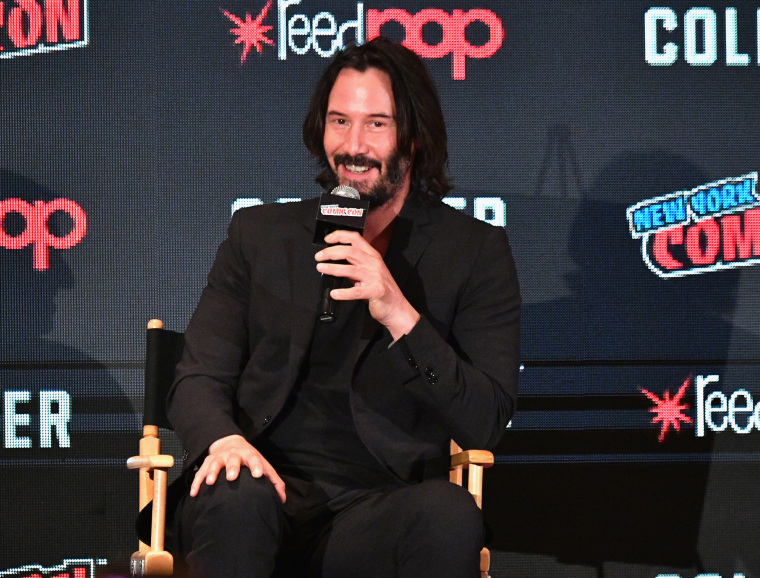 Keanu Reeves wants to apologize for his time in a band