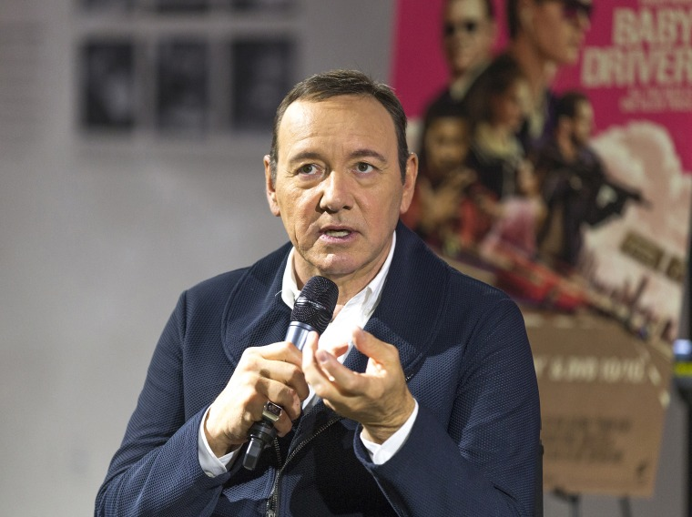 Kevin Spacey faces new allegations from Richard Dreyfuss' son