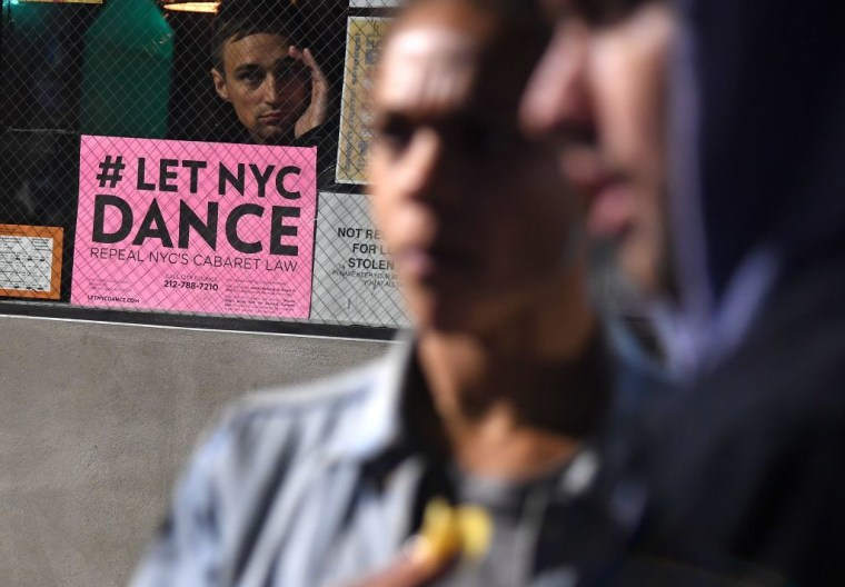 New York City has repealed the notorious no-dancing Cabaret Law