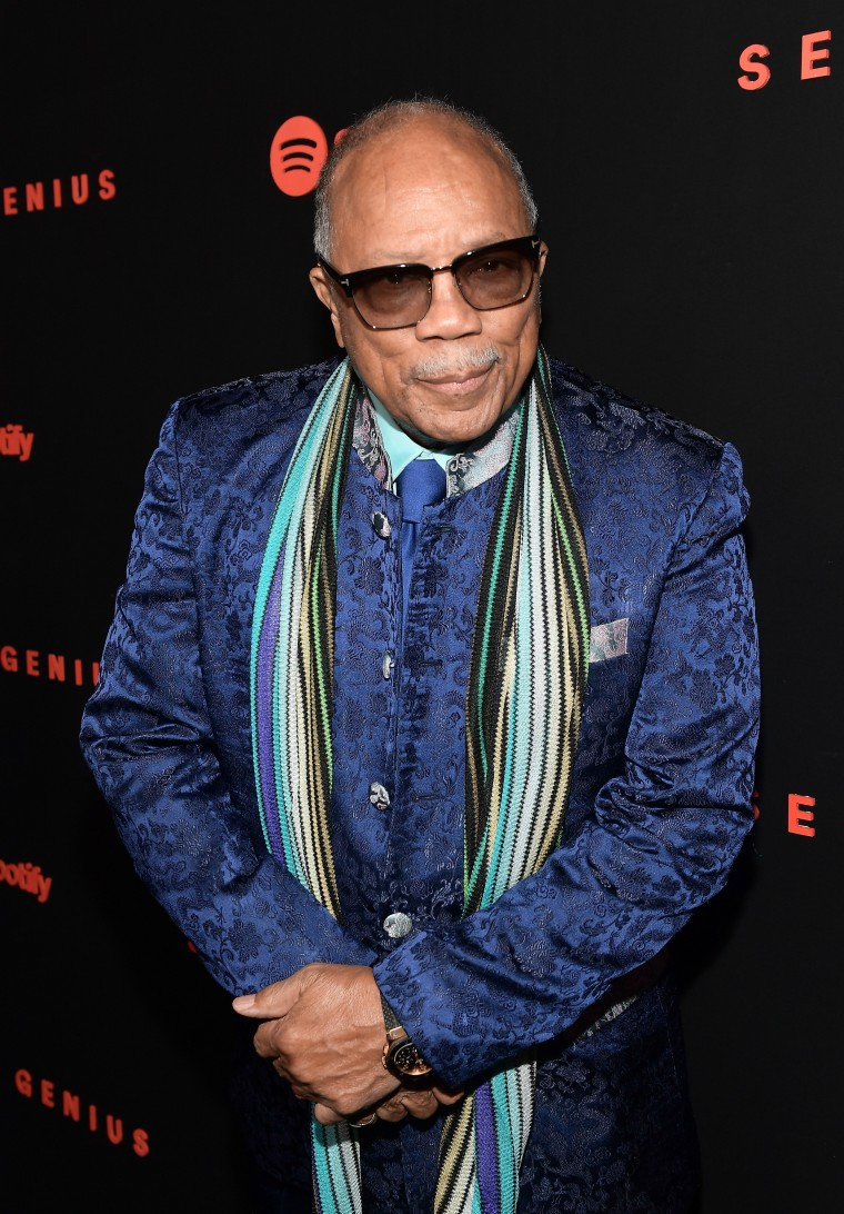 "Quincy Jones on Michael Jackson: ""He stole a lot of songs"""