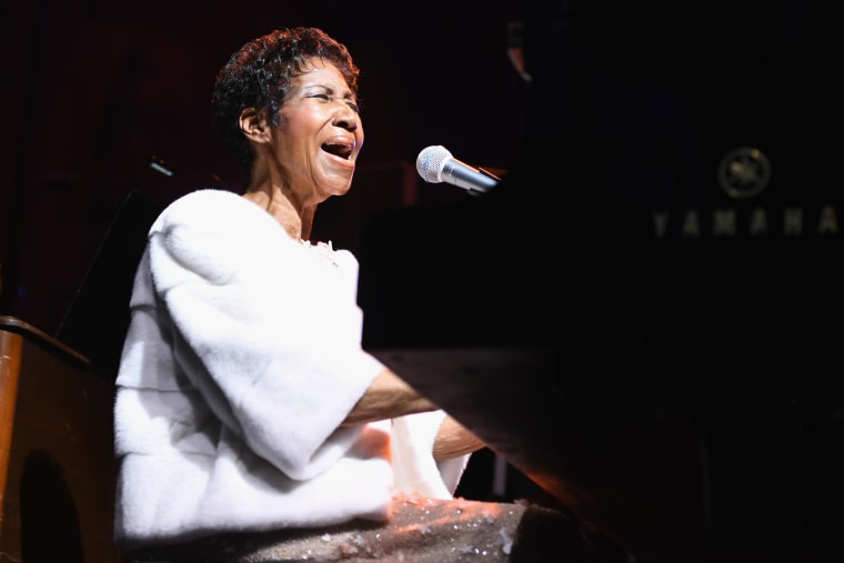 An Aretha Franklin tribute concert is reportedly in the works