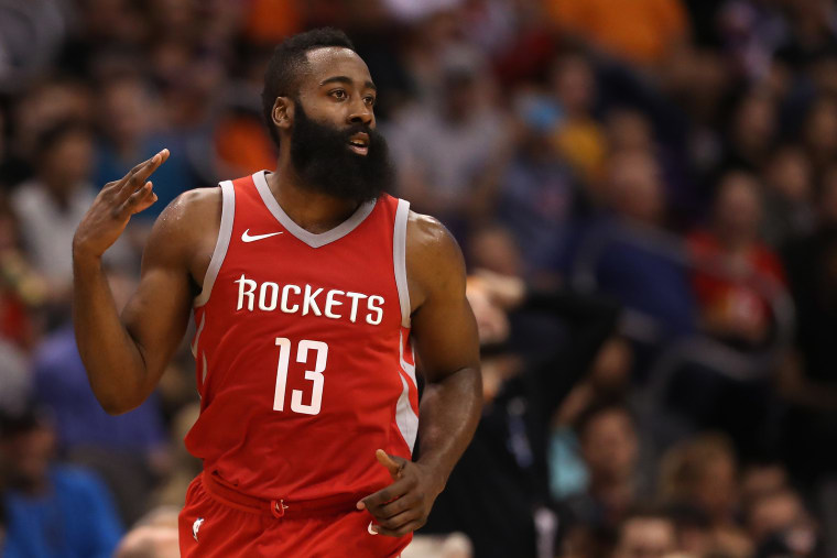 Report: James Harden visited Meek Mill in prison, will wear #FreeMeek sneakers in next NBA game