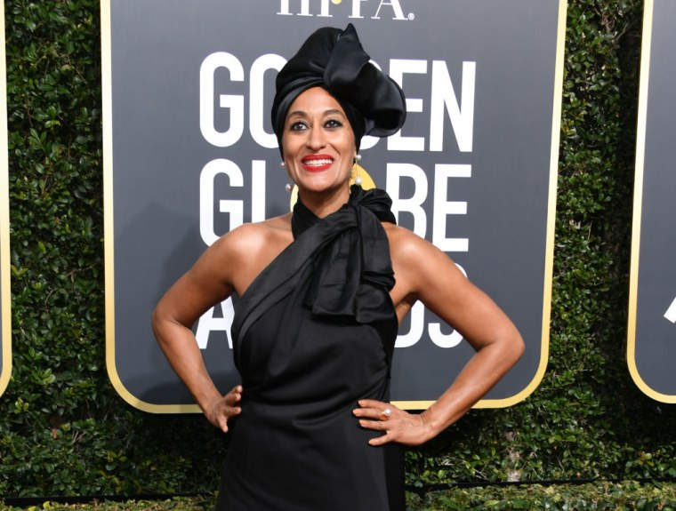 Tracee Ellis Ross's Golden Globes look was the pure definition of glamour