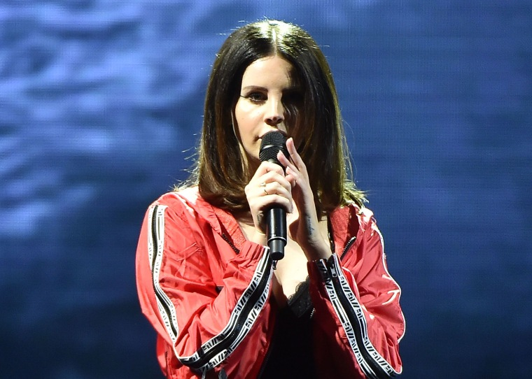 Lana Del Rey previews new song on Instagram