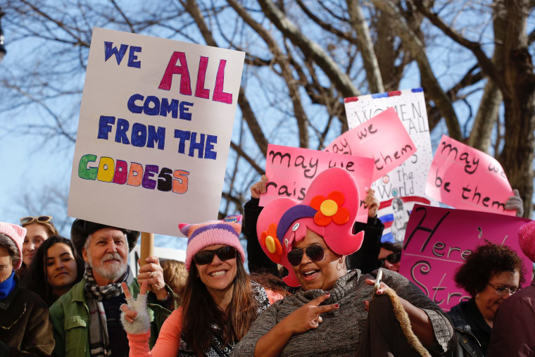 For 2018, the Women's March looks forward to the polls