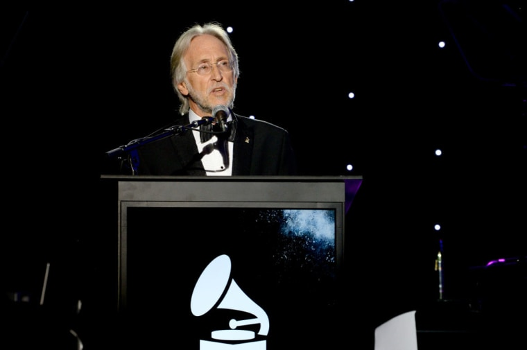 38 male music execs sign letter urging systemic changes at the Grammys