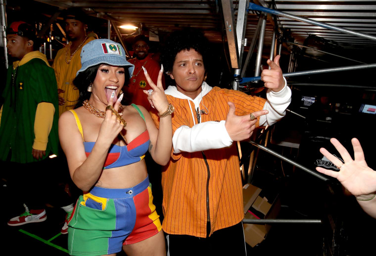 Cardi B pulls out of tour with Bruno Mars