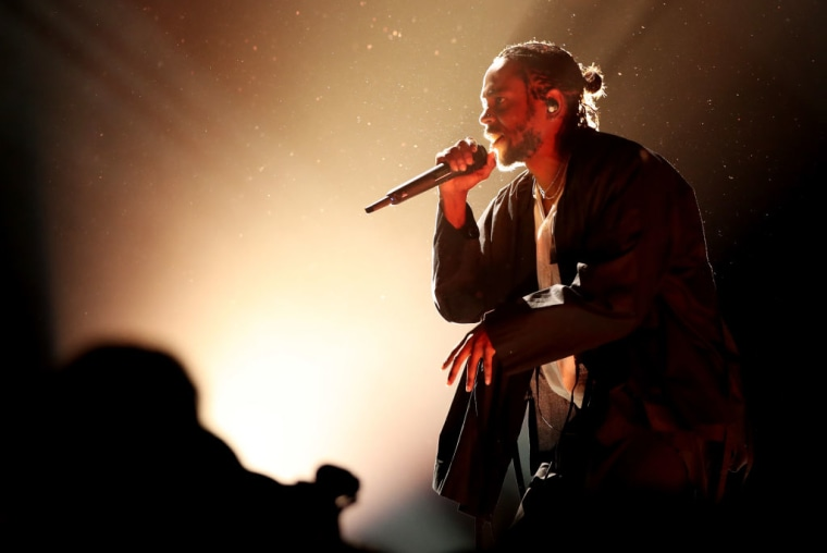 Each track on Kendrick Lamar's <i>DAMN.</i> has an RIAA certification