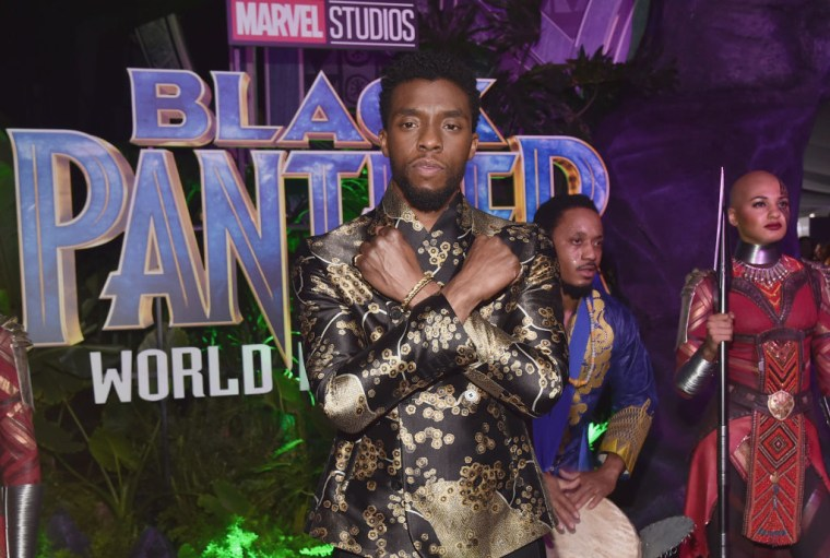 <i>Black Panther</i> fans went all out on opening night