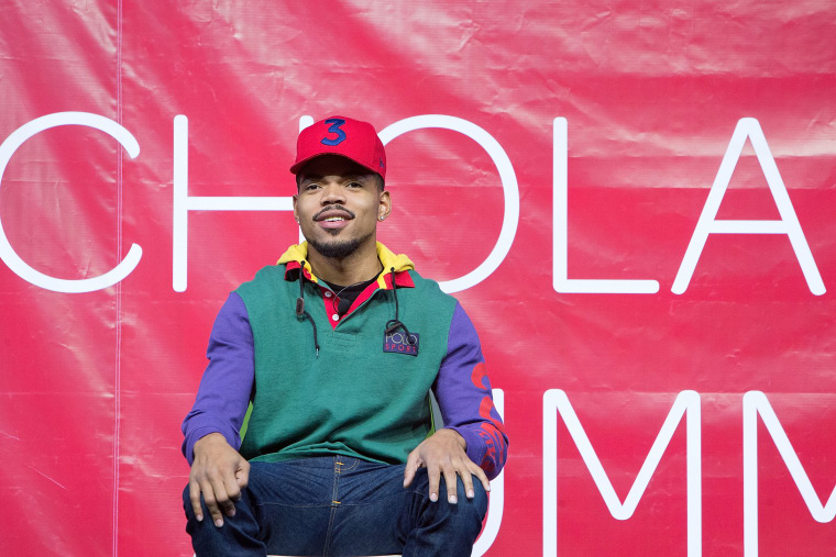 "Chance The Rapper says he's made ""amazing"" music with Childish Gambino"