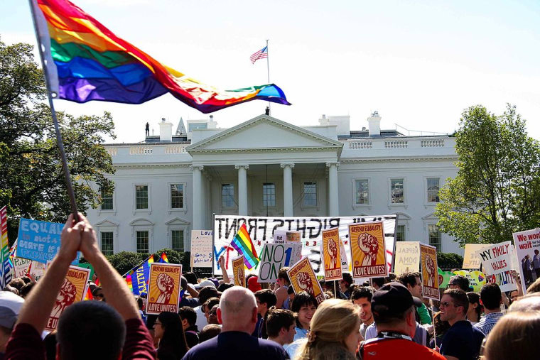 Trump Administration Says It Plans To Maintain Obama's Executive Orders On LGBTQ Workplace Protection