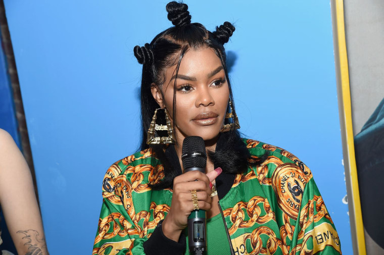 Teyana Taylor will host a listening party tonight