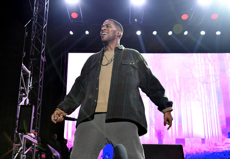 Kid Cudi brings out Kanye West during second Coachella weekend