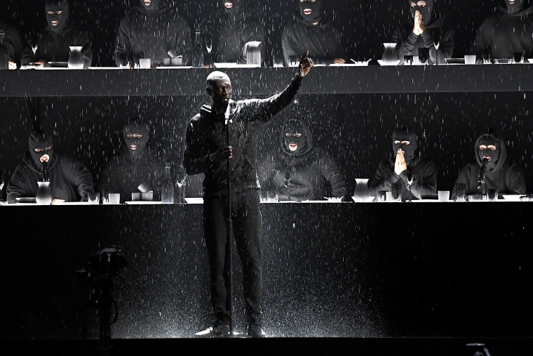 Downing Street responds to Stormzy's Brit Awards performance