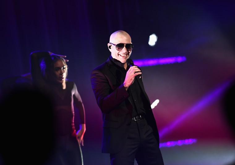 Pitbull to address the U.N.