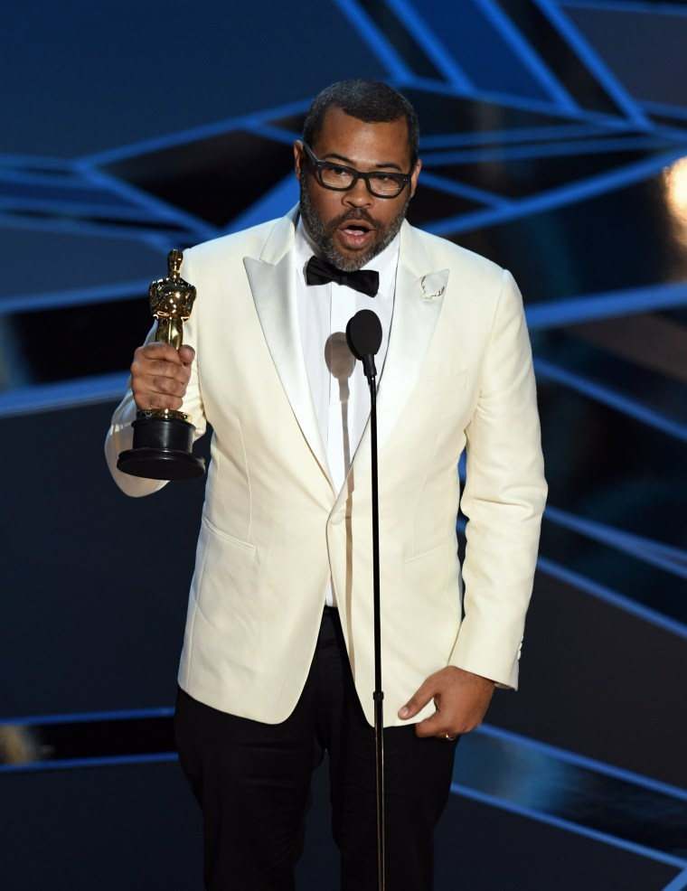 Jordan Peele won his first Oscar for Best Original Screenplay