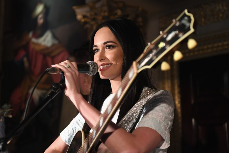 Watch Kacey Musgraves perform two <i>Golden Hour</i> songs on <i>Kimmel</i>