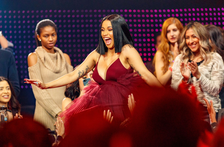 "Cardi B on men supporting #MeToo: ""They're not woke, they're scared"""