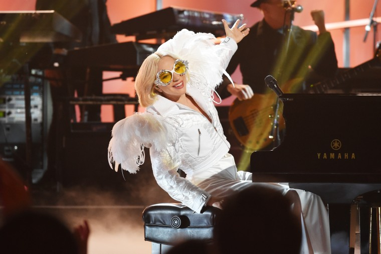 "Lady Gaga shares a cover of Elton John's ""Your Song"""