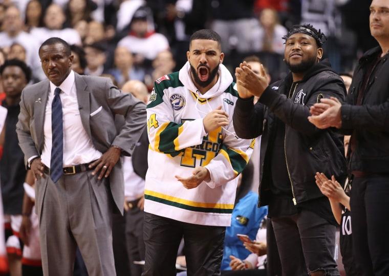Drake reportedly given NBA warning for using bad language