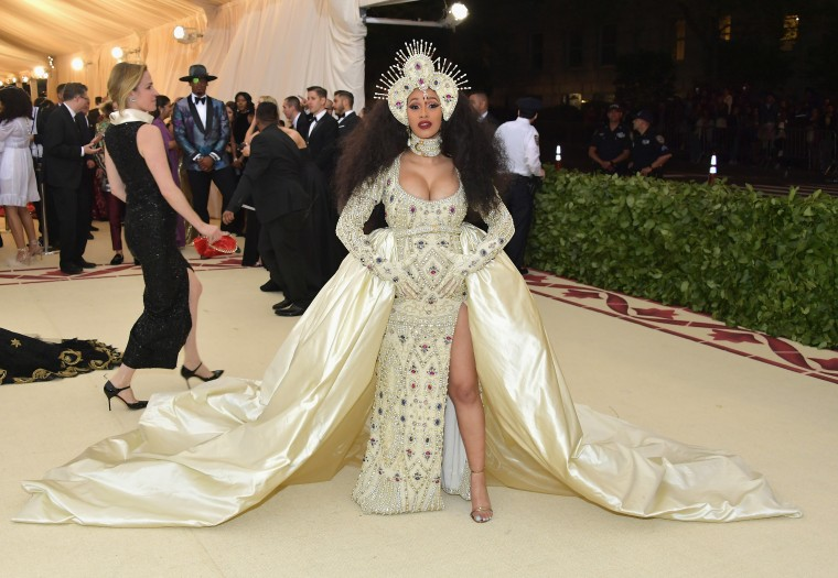 Ornate Headpieces Were The Move On This Year S Met Gala