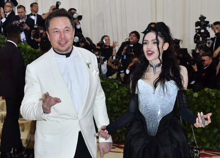 Elon Musk lists his favorite Grimes songs