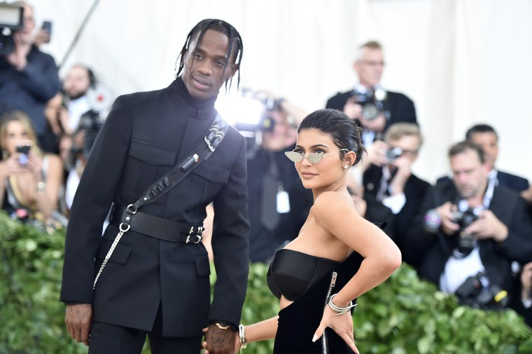 Kylie Jenner made Astroworld lip kits for Travis Scott's tour