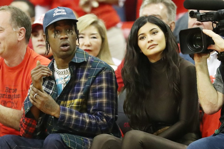 Travis Scott and Kylie Jenner won't be sitting behind Nicki Minaj at the VMAs