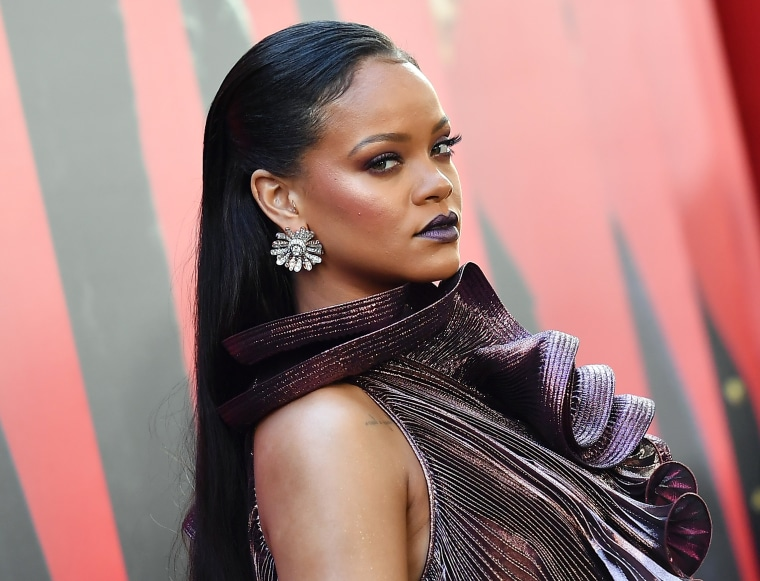 An unauthorized album of Rihanna songs has been pulled from iTunes