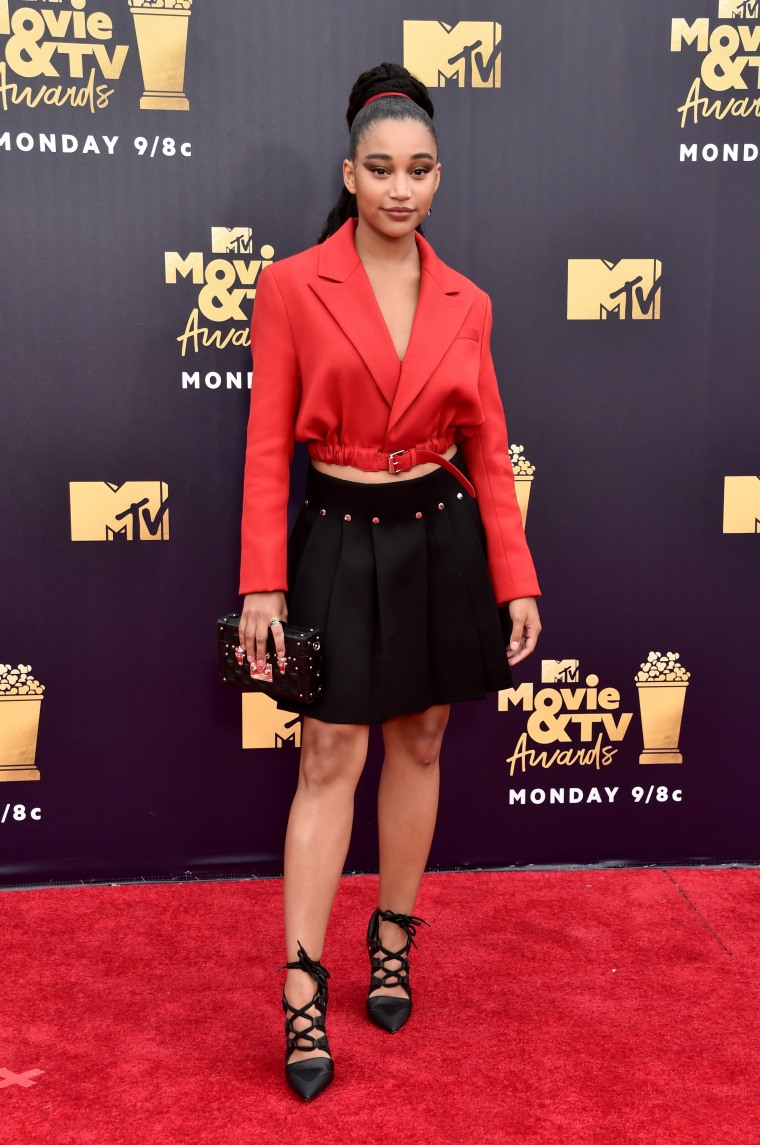 Here are the best looks from the MTV Movie & TV Awards