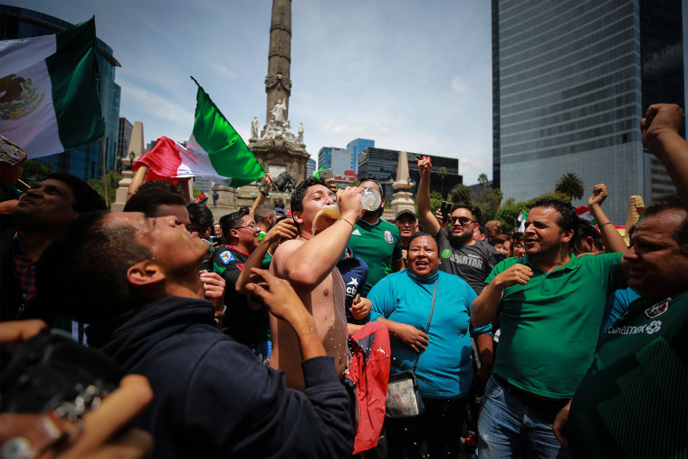 Mexico beat Germany in the World Cup and people are losing their minds
