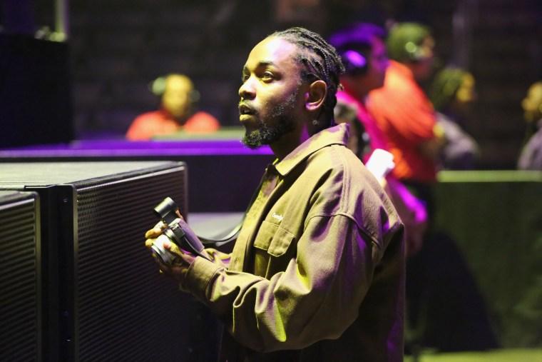 Kendrick Lamar denies rumors of split from label Top Dawg Entertainment
