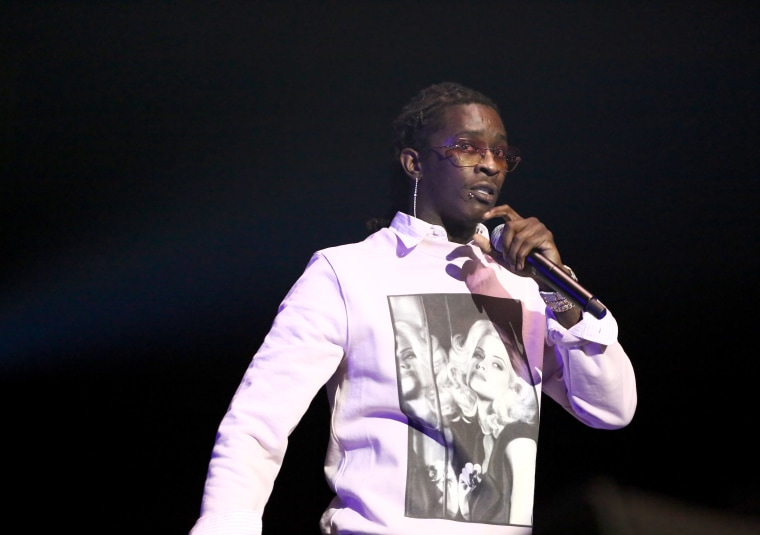 "Young Thug wishes Donald Trump a ""Happy 4th,"" teases 2024 run for president"