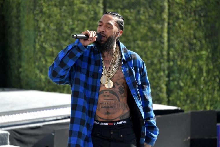 Police name suspect in shooting of Nipsey Hussle