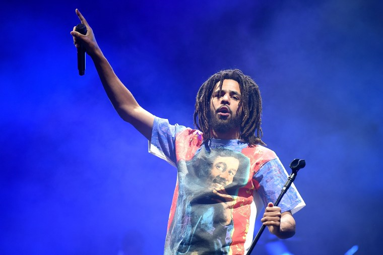 Watch J. Cole perform at NBA All-Star Game