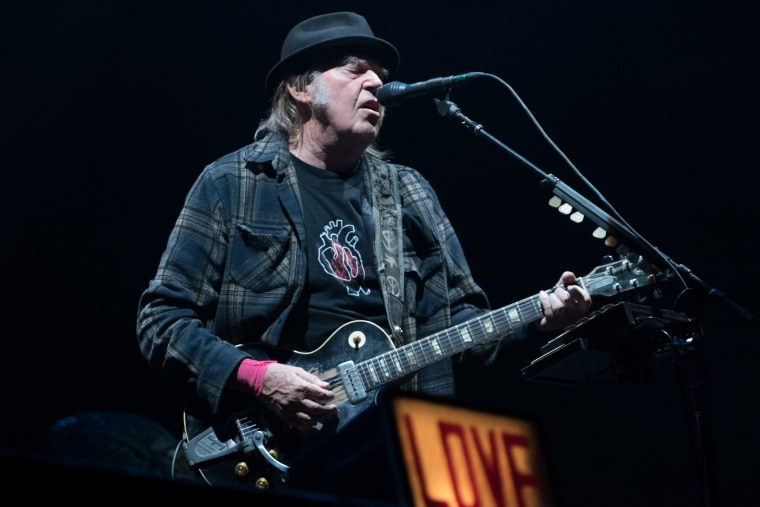 "Neil Young may sue President Trump over the use of ""Rockin' in the Free World"""
