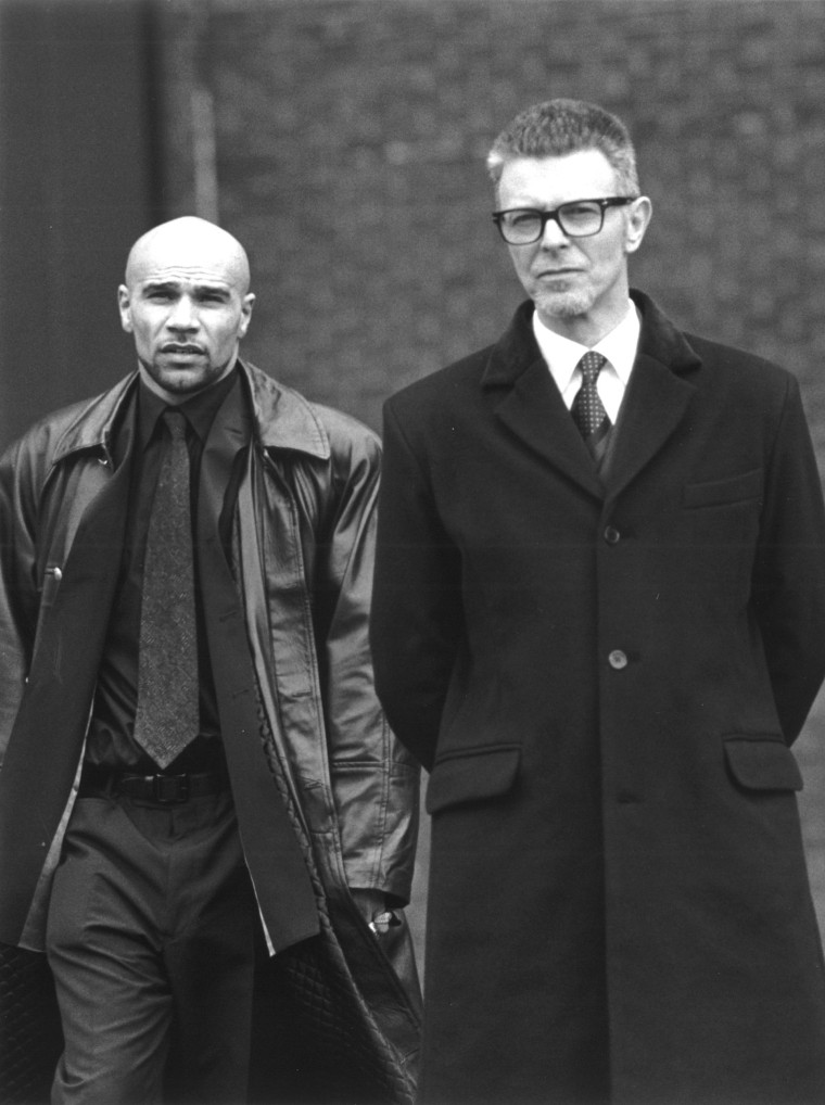 What happened when Bowie met Goldie