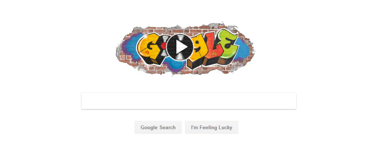 Today's Google Doodle Celebrates The 44th Anniversary Of Hip-Hop