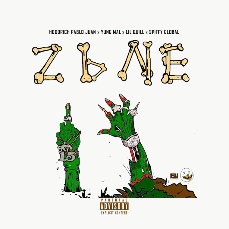 "On ""Zone 6,"" HoodRich Pablo Juan, Yung Mal & Lil Quill pay homage to home"