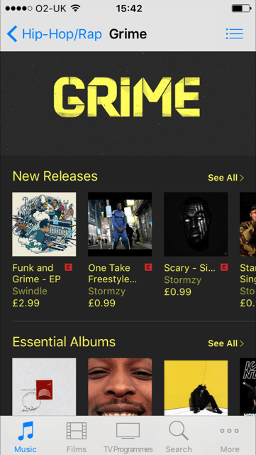 Grime Finally Has Its Own Section In The U.K. iTunes Store